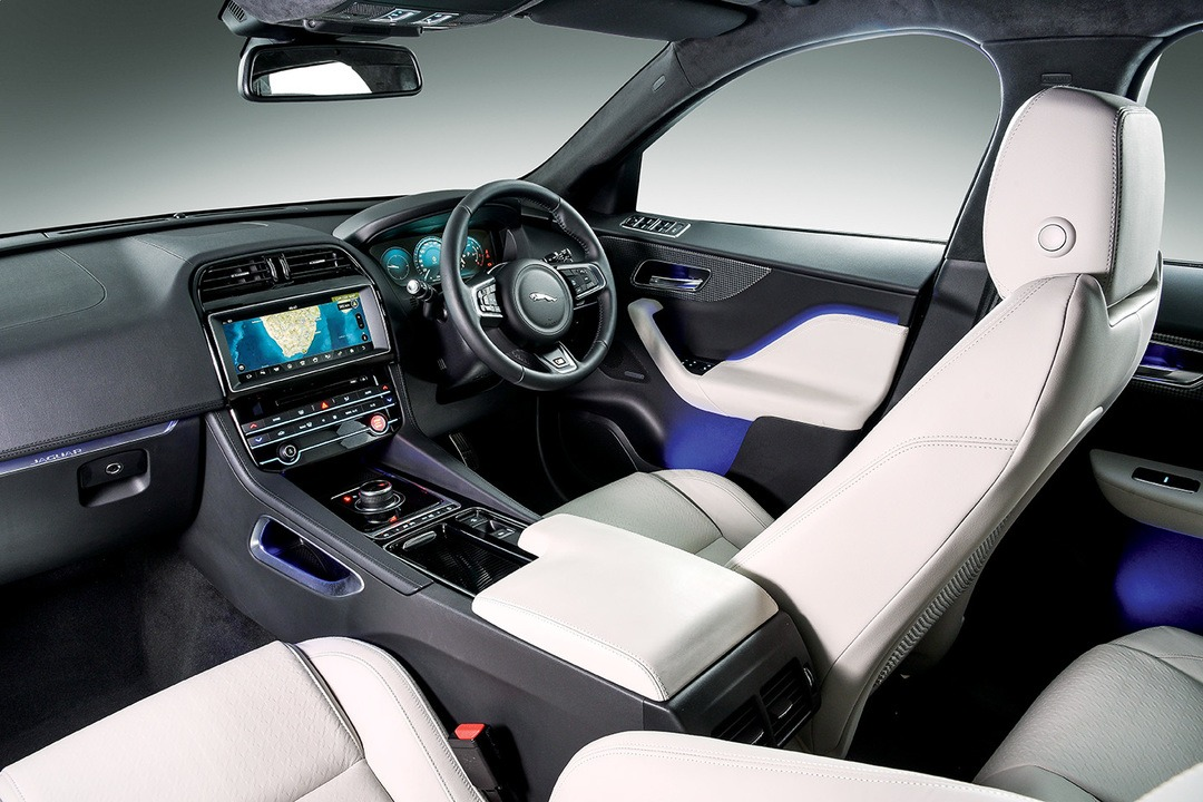 Jaguar F-PACE First Edition Interior 1 - Habitat Magazine ...