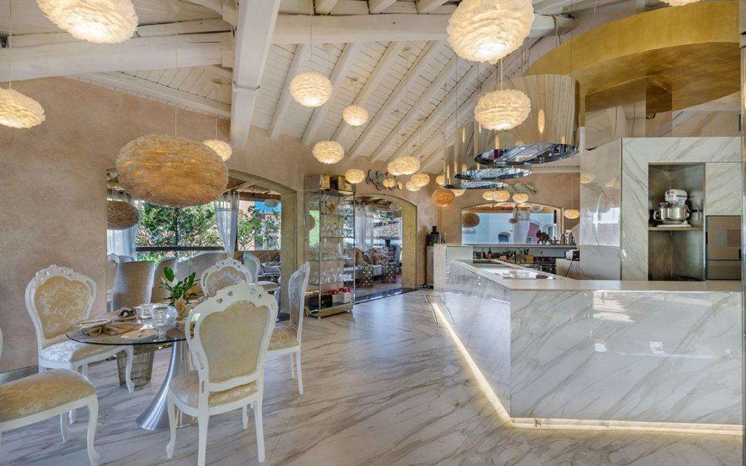 Neolith® Calacatta Gold stars in Italo Bassi's new restaurant