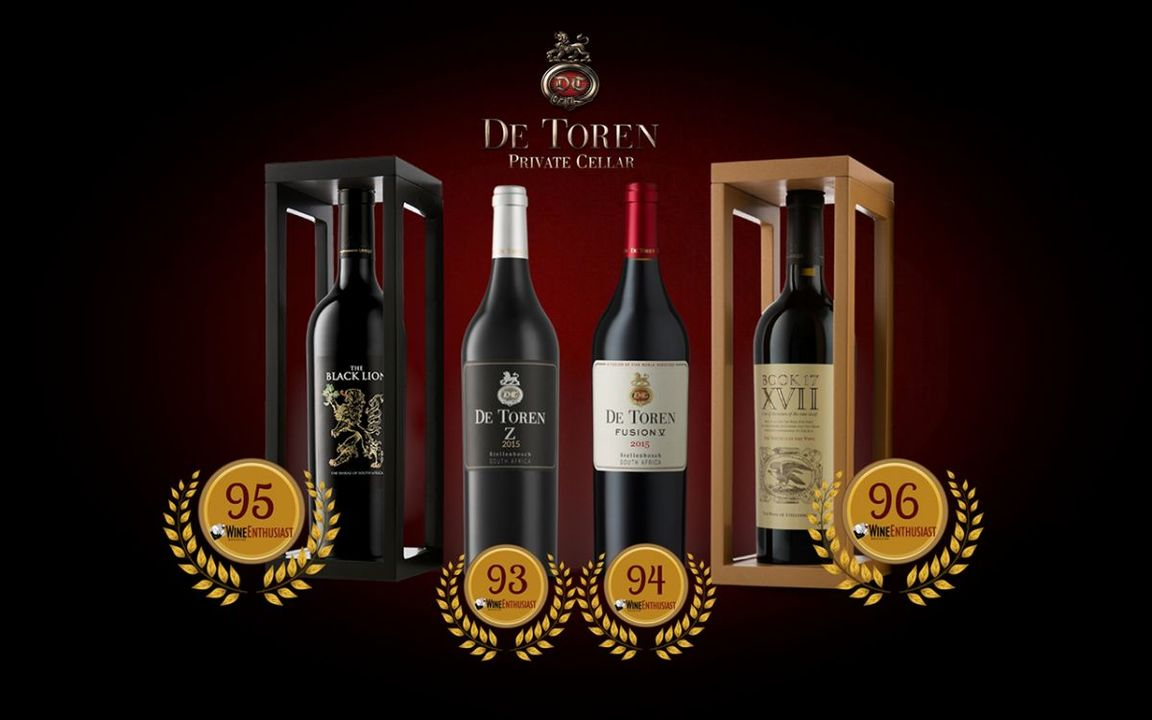 De toren the highest rated sa wine by wine enthusiast for Habitat de champagne