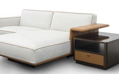 The new ALPHA-ONE and SARTHE sofas by Tonino Lamborghini Casa