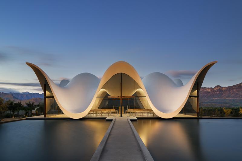 Breede River Valley's BOSJES Kapel wins international architectural award