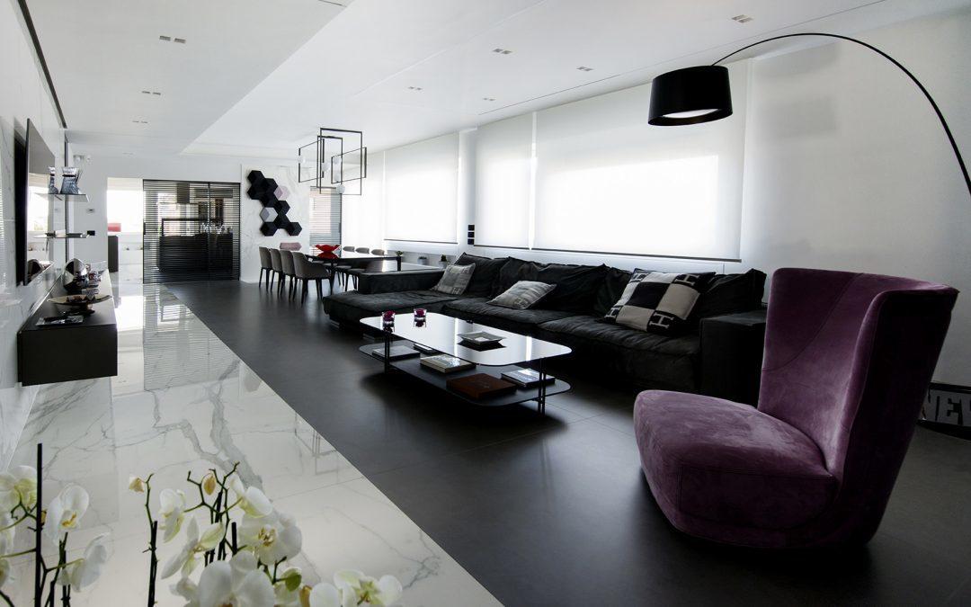 Neolith – Eternal elegance in luxury Rome residence