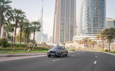 The self-driving prototype Jaguar I-PACE