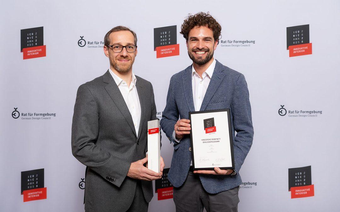 ICONIC AWARDS 2020: Innovative Interior for hansgrohe Rainfinity