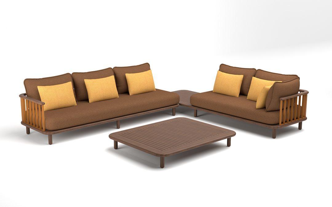 Swartberg Collection – Modular Platform Sofas by Haldane Martin